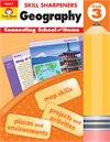 Book Cover: Evan Moor Skill Sharpeners Geography, Grade 3