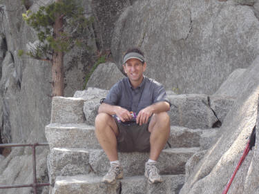 Picture:  Mike Graf at Yosemite Falls